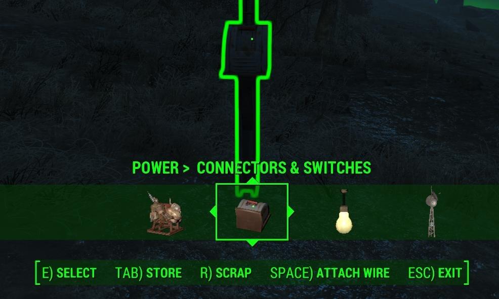 attach wire option