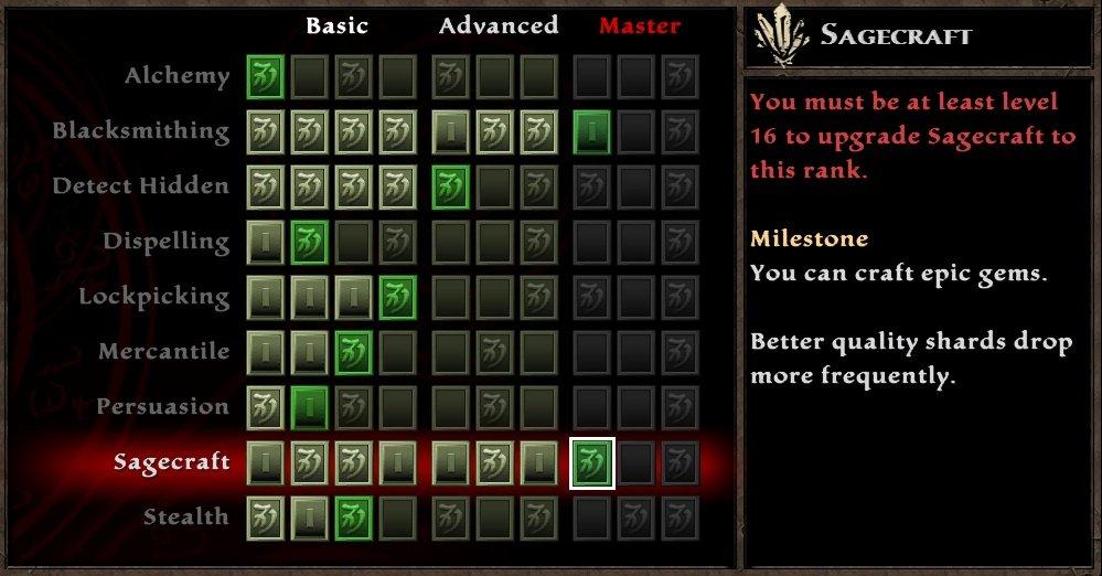 Bonus skill points on the skill tree